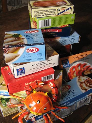 Frutti di mare in scatola
