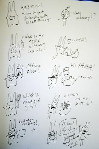 poofy doodle