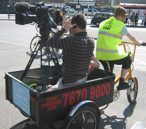 Bike Powered Camerman