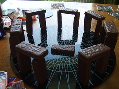 chocolate henge erected