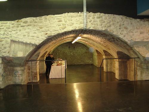 buffet dans la cave