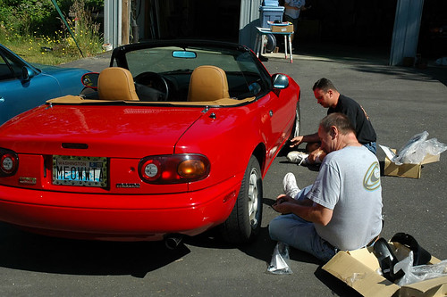 Miata Club Tech day 03
