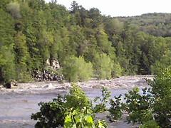 Schoharie Creek At Burtonsville, NY On June 28, 2006.