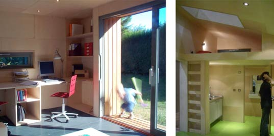 ECOSPACE GREEN GARDEN STUDIO,house design