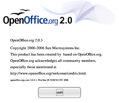OpenOffice-Malayalam-about