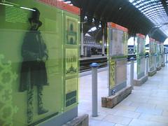 Brunel at London Paddington station