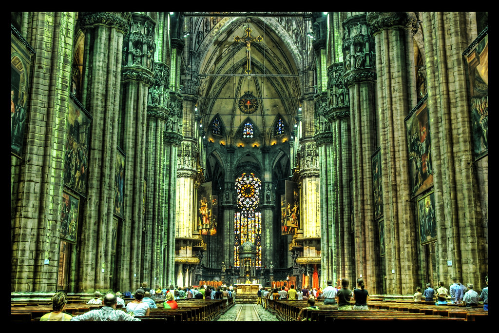 The Vast Interior of the Duomo
