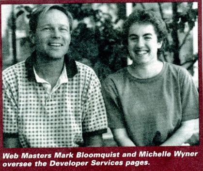 Apple Webmasters - circa 1995