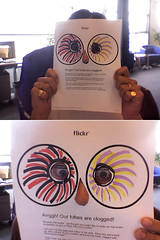 Flickr Colour Contest: Clogged Tubes Oh My!