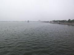 Lake on a park