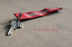 K is for key photo by Paddyllac