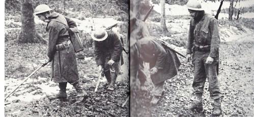 1944- Secteur du RFM dans les vosges truffé de mines - Paul Gaujac