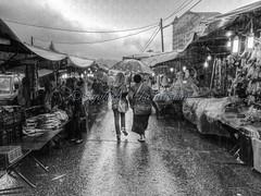 Shopping in the rain... photo by Syahrel Azha Hashim