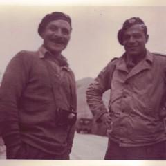 RFM- 1944 - Roger Barberot àgauche et Michel Bokanovski