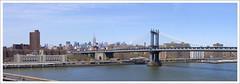 Manhattan Bridge - View from Brooklyn Bridge photo by afer92