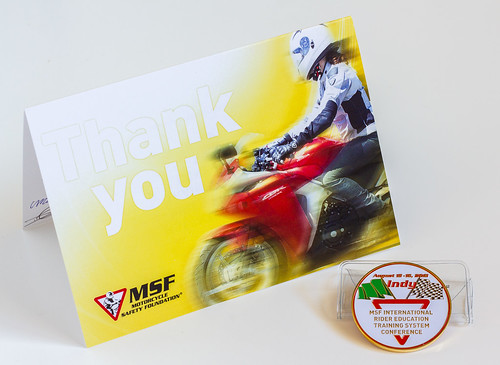 MSF Thank You Card iRETS 2013