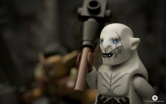 Azog at Dol Guldur photo by Automaton Pictures