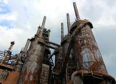 blast furnace and stacks photo by hmb52