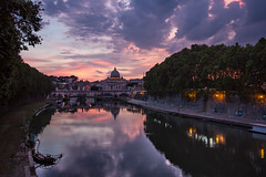 Sunset on Rome, the Eternal City photo by luigig75