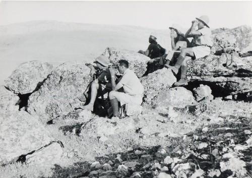 BM 2- 11 juin 41 Djebel Kaaat assini 2e à partir G Gerberon