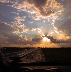 Driving Out Of A Storm photo by 303Photos