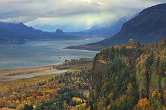 Storm over the Columbia River Gorge photo by sameermundkur
