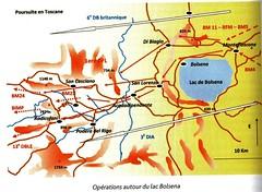 1944 -  Italie- Cartographie - Crédit Guy Crissin