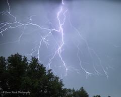 Lightning Storm - Explored photo by Caren Mack Photography