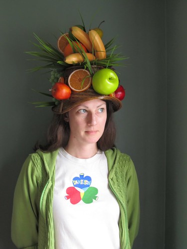 Mary and her Fruit Hat