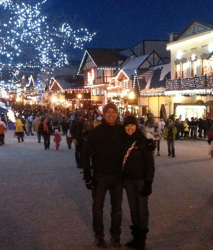Rep. Hawkins and his wife Shawna at the Leavenworth lighting ceremony