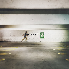 to exit photo by Lukas Leonte