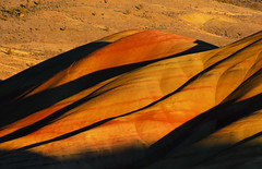 At sunset, the Painted Hills looked like Mars photo by GlennCantor (theskepticaloptimist)