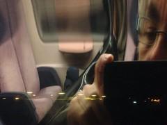 2013-1120 TREINVERTRAGING 00 in de lege trein