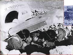 les fusiliers enterrent leur camion   le triomphant-France renaissante