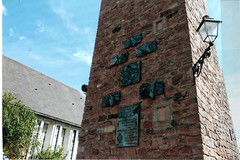 Illhaueusern - stèle Alain ott
