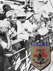 BM XI- 1944 - Italie-  les tirailleurs quittent Tarente