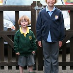 Both off to school<br/>10 Sep 2013