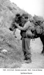 BM 4 Chambarand - 1945 24-25 Avril_Breil_Croix de Mairige_MarcelBeyron - Fonds Emile Gauthier