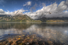 Jenny Lake, Grand Teton National Park HDR photo by Brandon Kopp