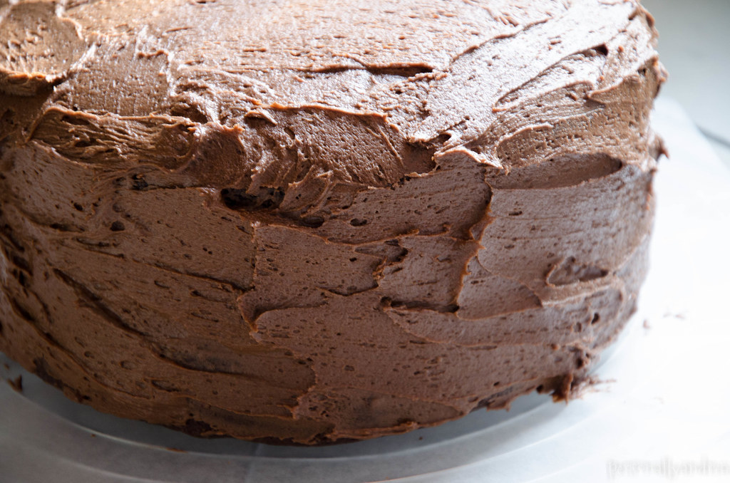 Perfect Chocolate Cake | personallyandrea.com
