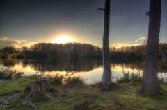 Sunset time at Hücker Moor photo by blavandmaster