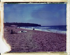 POLAROID SOUTH CURL CURL BEACH photo by Eva Flaskas