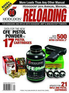 Hodgdon 2014 reloading manual