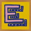 Bob and Roberta Smith Alphabet Block E