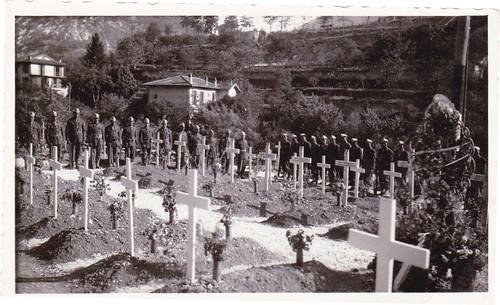 Authion- Escarène - dernier adieu aux tirailleurs du 22 Bmna  - Col. René Petitot