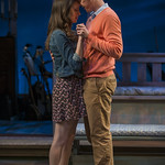 Emily Berman (Tessa) and Jarrod Zimmerman (Arnaud) in DAYS LIKE TODAY at Writers Theatre. Photo by Michael Brosilow.