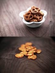 mini pretzels photo by Morningdew Photography