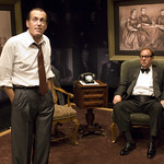 Larry Yando and William Brown in NIXON'S NIXON at Writers Theatre. Photos by Michael Brosilow.