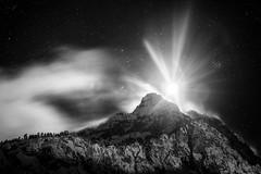 Guglia Rossa at Night [Explored Feb 8, 2014 #67] photo by Federico Ravassard