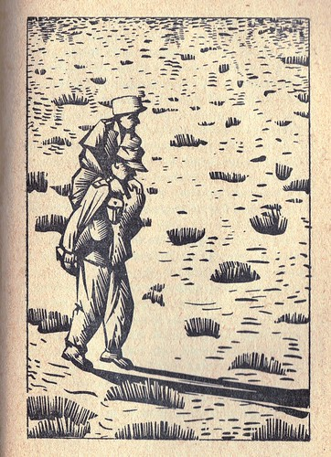 Bir Hakiem- Les naufragés du désert après la sortie de vive force